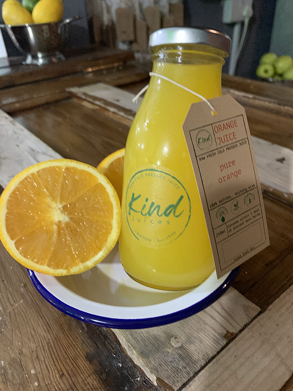 Kind Juices Cold Pressed Pure Orange Juice