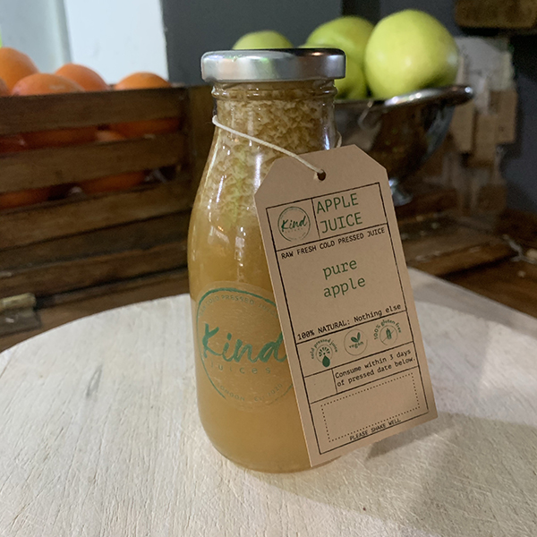 Kind Juices Cold Pressed Pure Apple Juice