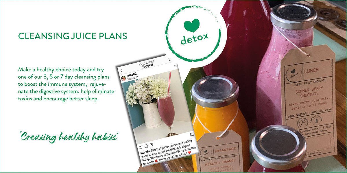 Kind Juices Cleansing Programme