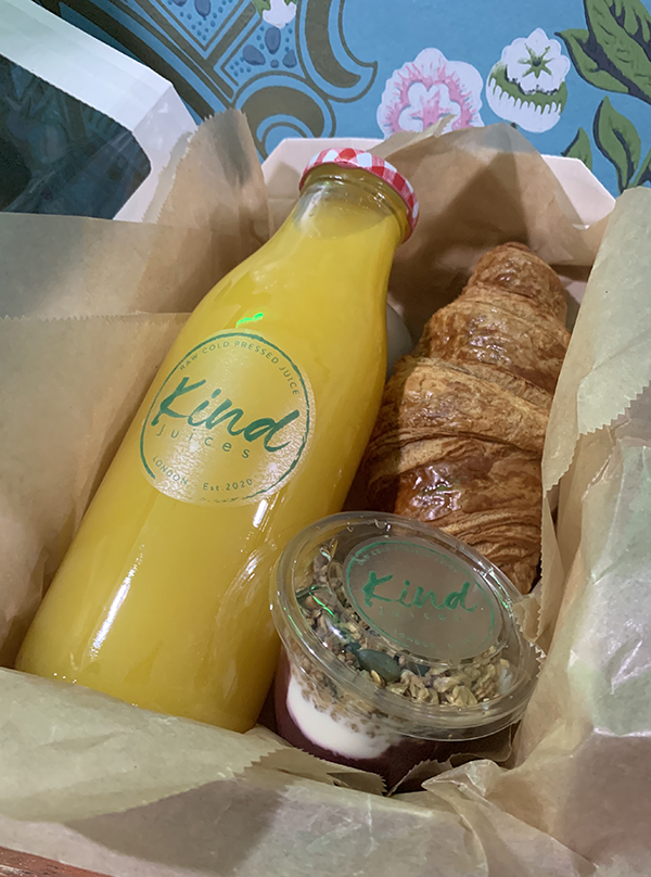 Kind Juices Breakfast and Lunch Boxes