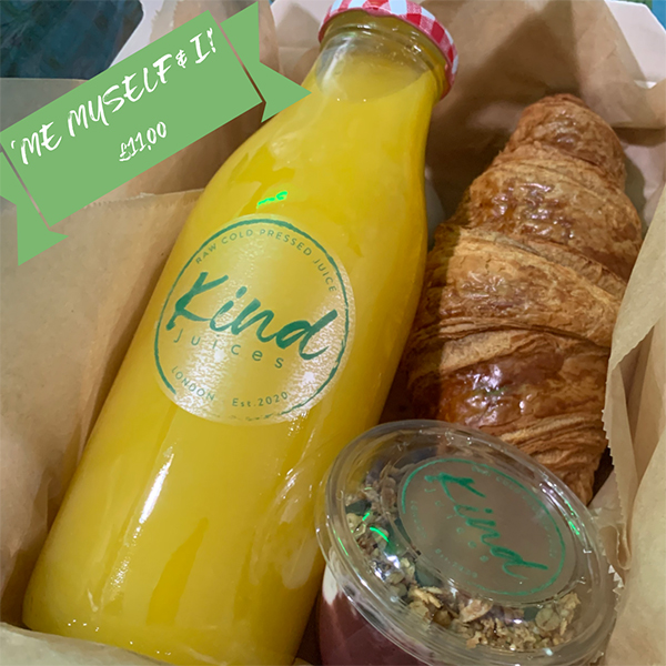 Breakfast Boxes Kind Juices