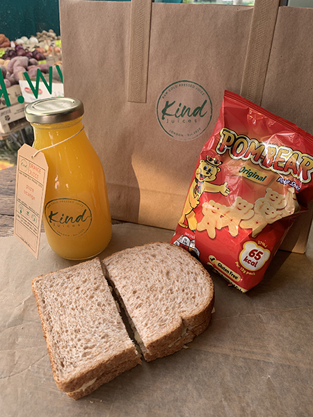 Kind Juices Packed Lunch Boxes
